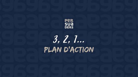 3,2,1 plan d'action